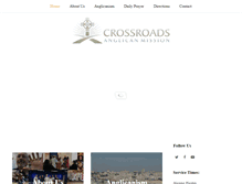 Tablet Preview of crossroadsanglican.org